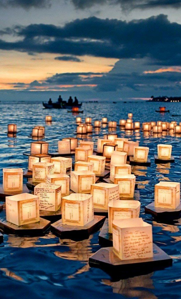lampioane plutitoare